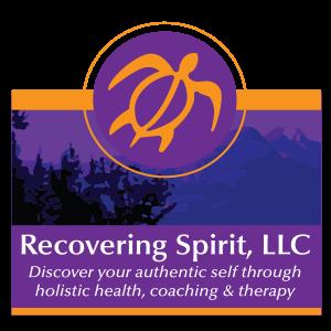 graphic design Recovering Spirit logo