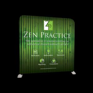 graphic design Zen Practice display