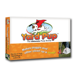 graphic design Yard Pup package