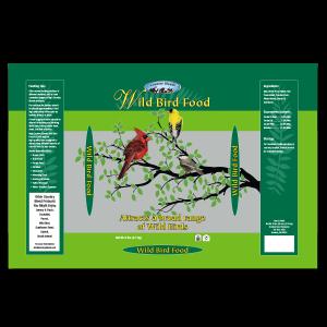 graphic design Wild Bird Food package