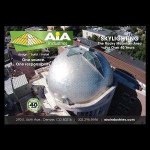 graphic design AIA print ad