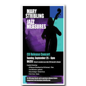 graphic design Mary Stribling Ad
