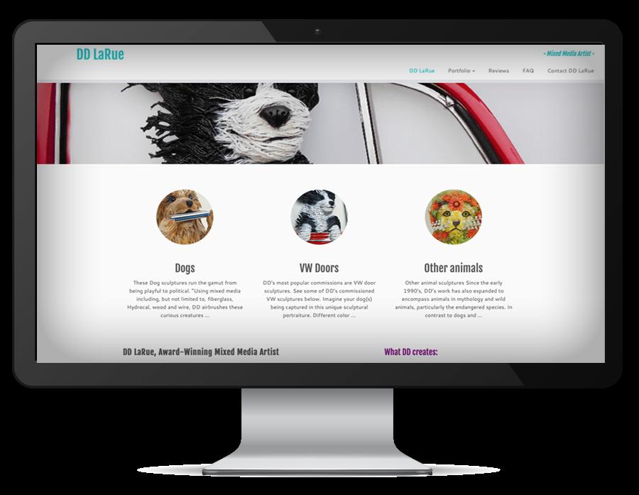 graphic design DeDe LaRue website